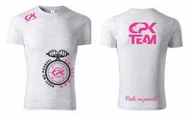 Tricou Alb CPK Team